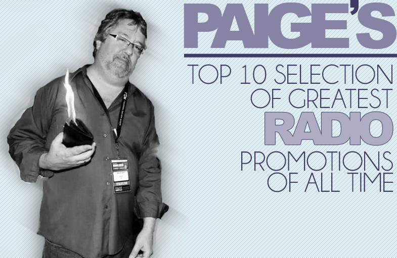Top 10 radio promotions of all time by Paige Nienaber.