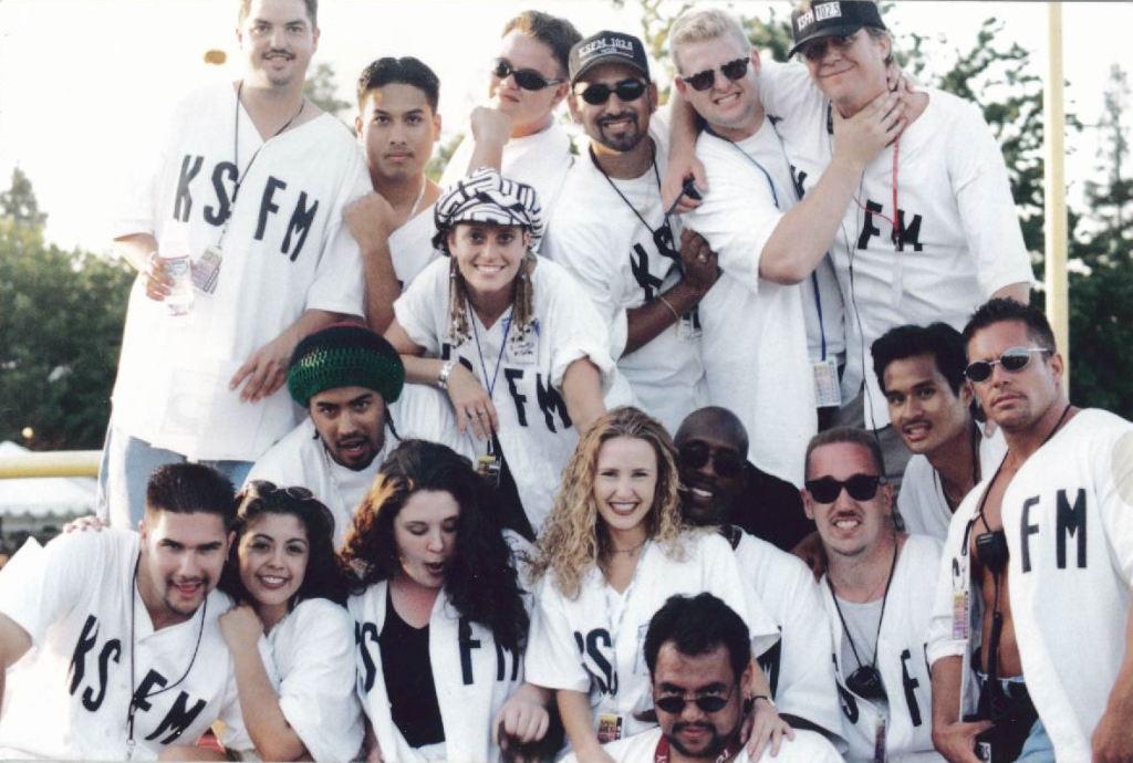 KSFM baseball team in White Shirts