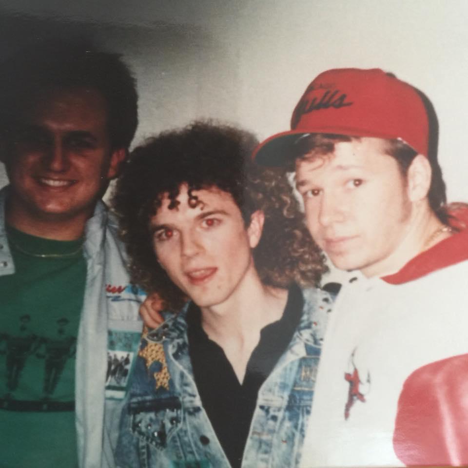 Hanging tough with Erik Bradley circa 1990