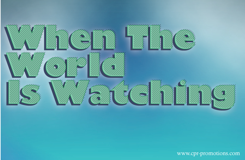 When the whole world is watching your market because of an unfolding news story, what will you do?