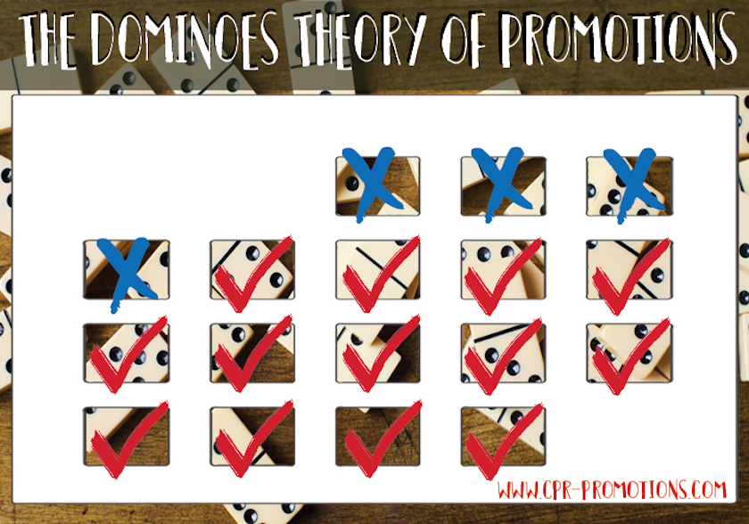 Domino's Theory Promotion